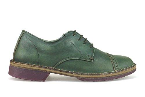 WALLY WALKER classiche uomo 40 EU verde pelle AJ338-B
