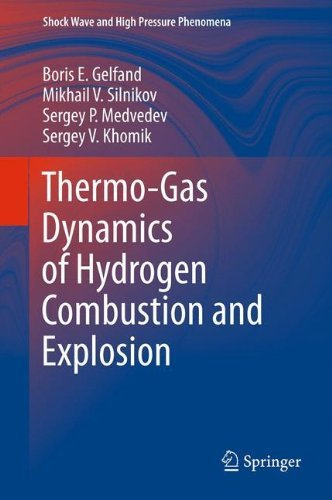 Thermo-Gas Dynamics of Hydrogen Combustion and Explosion (Shock Wave and High Pressure Phenomena) by Boris E. Gelfand (2014-04-17)
