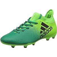 adidas - Botas de fútbol de Sintético Hombre, Hombre, neongrün/grün, 8,5 UK - 42,2/3 EU