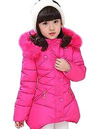 LPATTERN Herbst und Winter warme Mädchen Baumwolljacke Winterjacke
