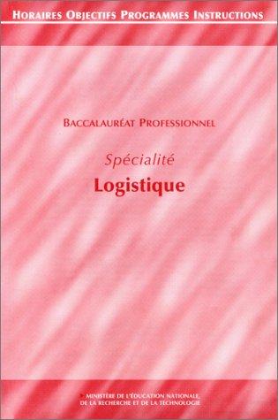 Baccalauréat professionnel, logistique et transport. Options exploitation des transports logistiques