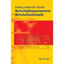 Springer-Lehrbuch: Wertschöpfungsorientierte Wirtschaftsinformatik