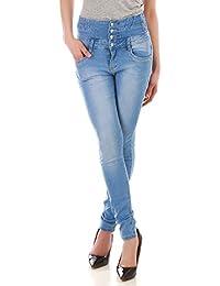 La Modeuse - Jeans slim taille haute