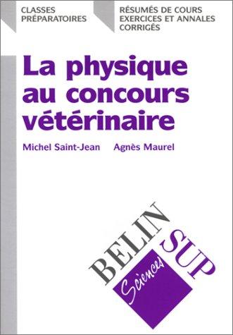 La physique au concours vétérinaire