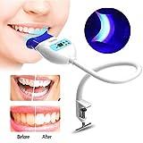 Dents blanchissant la lumière, lumières froides de machine de lampe de blanchiment de LED pour l'utilisation dentaire de bureau d'outils de dent(blanc)