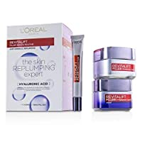 L'Oreal Revitalift Filler Renew Routine Set: Day Cream 50ml/1.7oz + Night Cream 50ml/1.7oz + Eye Cream 15 ml/0.5oz 3pcs