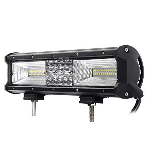 ELENXS Quad Row 12 Zoll 840W 68LED Arbeits-Licht-Bar-Punkt-Flut Combo Fernscheinwerfer Wasserdichten LED-Arbeits-Licht 6000K für SUV Offroad Vehicle -
