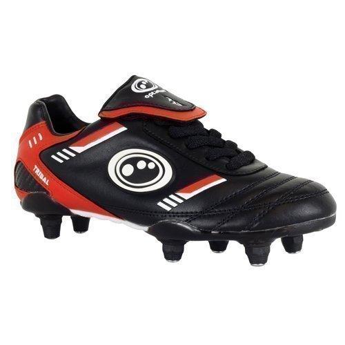 5 Größe Fußball-stollen, Jungen (Optimum Tribal SI Kinder Fußball Schuhe Schnürbar Mit Stollen Größen EU 23-30 Neu - EU 37)