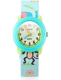 TOPCHANCES Little Girls Watch, Waterproof Environmentally Friendly Materials Kid's 3D Protecter Skin's Cute Quartz Watch for Boy Girls
