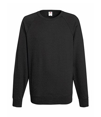 Fruit Of The Loom Men's SS024M Long Sleeve Sweatshirt, Grey (Light Graphite), Large