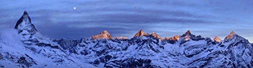 Berlin Papel Pintado–Wall Paper on Demand–Papel Pintado fotográfico–montañas–48possibilités el cervino Voir N ° 33290, 325.5 x 88.7 cm