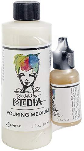 Dina Wakley Media Pouring Medium & Cell Creator Set- Cell Board
