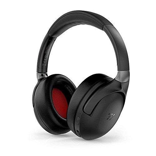 TaoTronics Kopfhörer mit Geräuschunterdrückung, verbesserte ANC-Kopfhörer mit aptX CD-ähnlichem Klang, tiefer Bass und CVC 6.0-Geräuschunterdrückung, integriertes Mikrofon