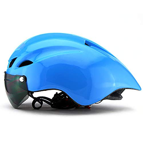BLTX Fahrradhelm Visier Rennradhelm Sporthelm, Helm Skates/ 8 Belüftungsöffnungen,Kopfumfang: 57-61 cm,6