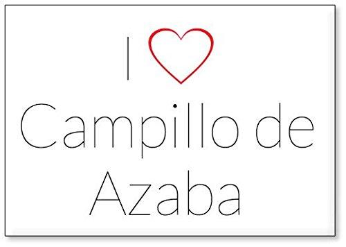 Mundus Souvenirs - Amo Campillo de Azaba, Imán para Nevera (diseño 2)