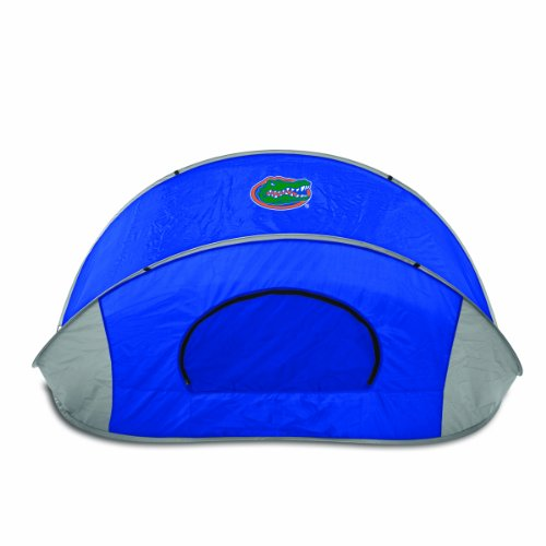 Picnic Time NCAA Florida Gators Manta Tragbare Pop-Up Sonne/Wind Shelter - Schwarz Gator Print