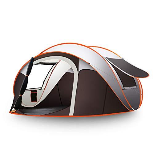DLLzq Outdoor Automatisches Kuppelzelt 3-8 Personen Camping Wasserdichter Schatten,280cm*200cm*120cm