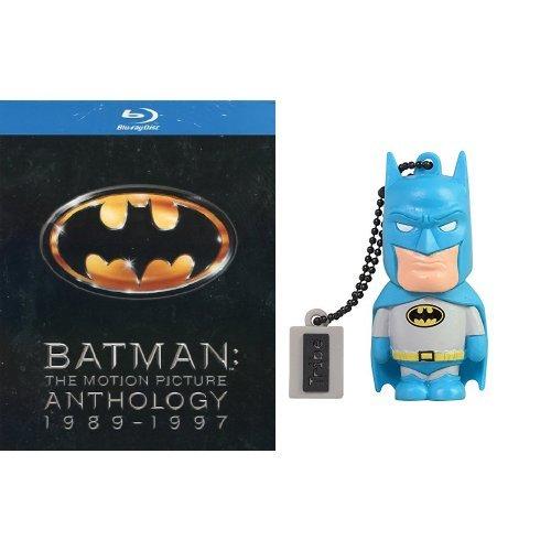 Batman - The motion picture anthology 1989 - 1997 + Chiavetta Tribe DC Comics Batman USB Stick 8GB