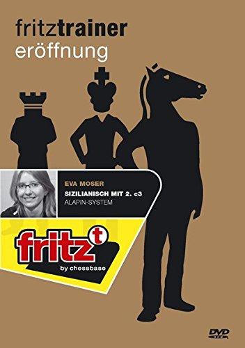 Sizilianisch mit 2. c3 - Alapin-System, Fritztrainer Schacheröffnung, ChessBase-DVD-ROM Für Windows 98 SE/2000/XP/Windows Media Player 9.0 (König Me-brettspiel)
