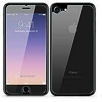PhoneStar iPhone 8 Panzerglasfolie Vorne und Hinten [PANZERGLASFOLIE FRONT & BACK] 3D Screen Protector Displayschutz 9H