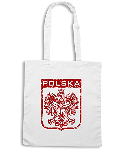 T-Shirtshock - Borsa Shopping TSTEM0076 polska mens Bianco