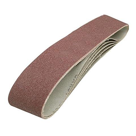 Silverline 186813 5 Pack 80 Grit, 100 x 915 mm Sanding Belts