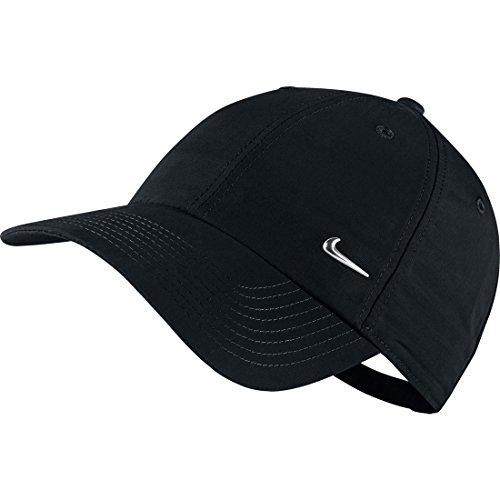 Nike Metal Swoosh Cap Berretto, Uomo, Nero, Unica