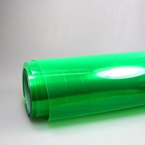 Scheinwerfer Folie grün Nebelscheinwerfer Auto 1m x 0,3m Tönungsfolie