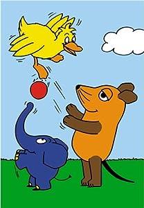 Schmidt Spiele  - El Programa con el Mouse, Juegos de Pelota, 60 Piezas Jigsaw