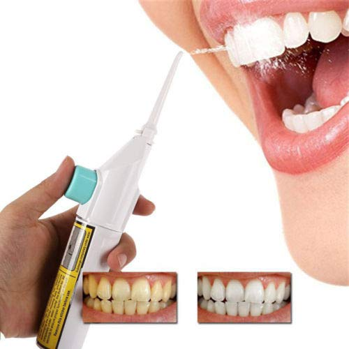 NAttnJf Sin Baterías Portátil Palillo de dientes Braces Clean Whiten Dental Chorros de chorro de agua