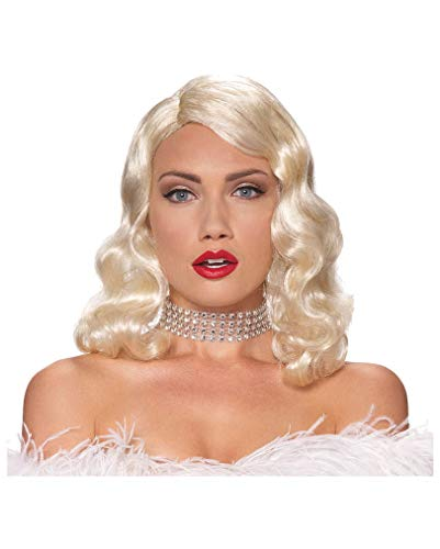Blonde Hollywood Diva Perücke