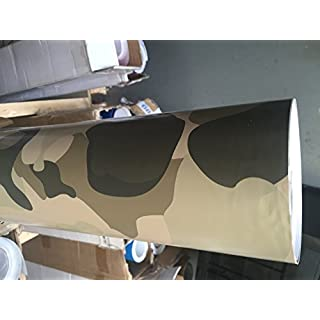 SKYMEX VINYL WRAP DESERT CAMOUFLAGE Vinyl Wrap Sheet Car Wrapping Air Bubble Free 5M x 1.52M