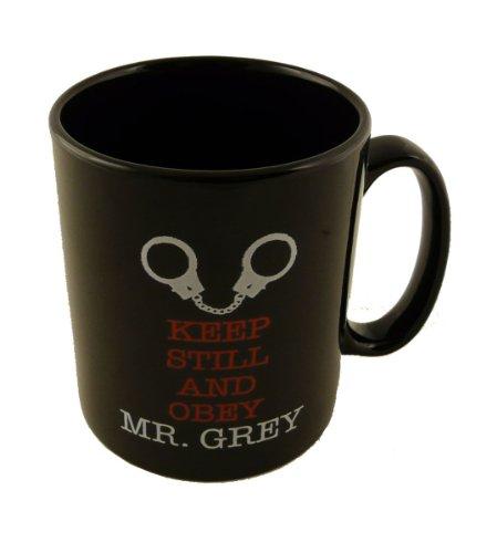 50 Nuances de Grey et garder toujours Obey Mug M. Gris