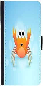 Snoogg Cute Cartoon Of Crabdesigner Protective Flip Case Cover For Samsung Ga...