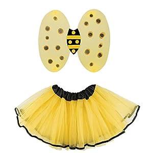 Boland 52867 - Disfraz de Abeja Miel, Color Amarillo y Negro