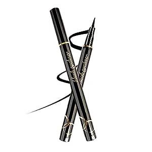 atongm Eyeliner 24H Long Lasting Sweat, Waterproof Eyeliner pen dark for women, girls (1 pack black)