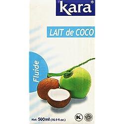 Kara Lait de Coco Fluide 500 ml