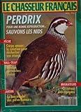 CHASSEUR FRANCAIS (LE) [No 1142] du 01/04/1992 - perdrix, sauvons les nids peche, carpe amour, la solution pour desherber vos etangs ball-trap, quelles cartouches choisr le bon emploi des pulverisateurs migrateurs, le retour des cigognes