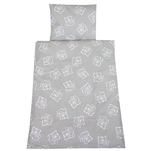 Baby Bettwasche Kinderwagen Deckenset Mit Stickerei B 2tlg