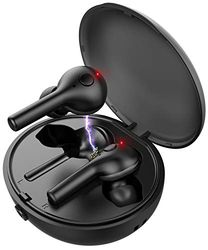 Babacom Auriculares Bluetooth, Twins Áuriculares Inalámbricos con
