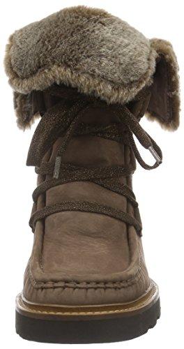 Sioux - Grash.-d162-13-wf, Stivali a metà gamba con imbottitura pesante Donna Marrone (Braun (Stone))