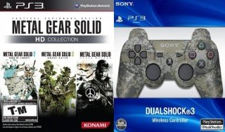 Metal Gear Solid HD Urban Camouflage Collection PS3 US by ACME