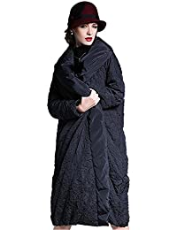 Queenshiny® Women Warm Fold Loose Long Down Coat