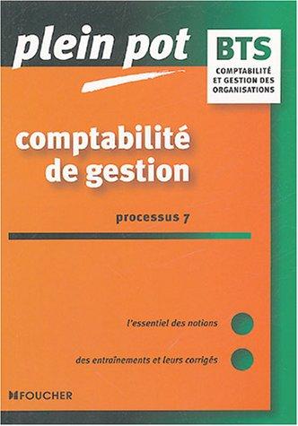 Comptabilit de gestion P7 : BTS
