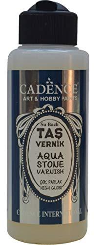 CADENCE Aqua Stone Varnish High Gloss 120 ml - Arts-Crafts, Hobby-Paints, Aqua-Stone, Vernice