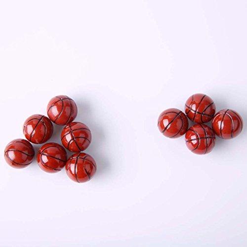 Sharplace 10 Pezzi di Miniatura Basket Modello per Doll Accessorio per Scala 1:12 Casa della Bambole