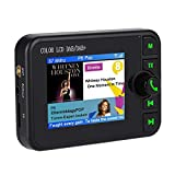 ASHATA Radio Dab Bluetooth de Coche,Transmisor FM Bluetooth 170-240MHz Dab / 87.5-108MHz con 2.4 Inch Pantalla LCD para Automóvil,Audio Digital Música Car Player,Apoyo Llamada Manos Libres