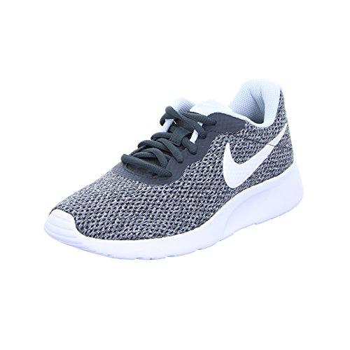 Grau Nike Schuh Womens (Nike Tanjun Women Sneaker (39 EU, Anthracite/White))