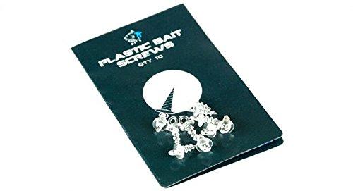 Nash Plastic Bait Screws, Nessuno, Einheitsgröße