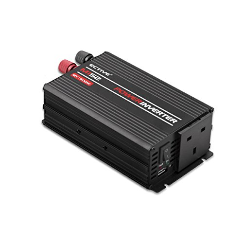ective reiner mi-series | Power Inverter 24V auf 230V | 7Varianten: 300W–3000W | Spannung Transformatoren, Stromwandler, Energie Konverter, Backup System, Konverter DC AC